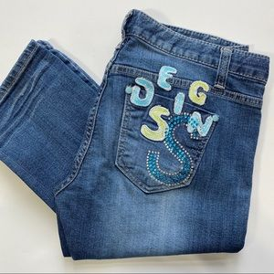 12* ons Jeans size 29 Bedazzled Pocket